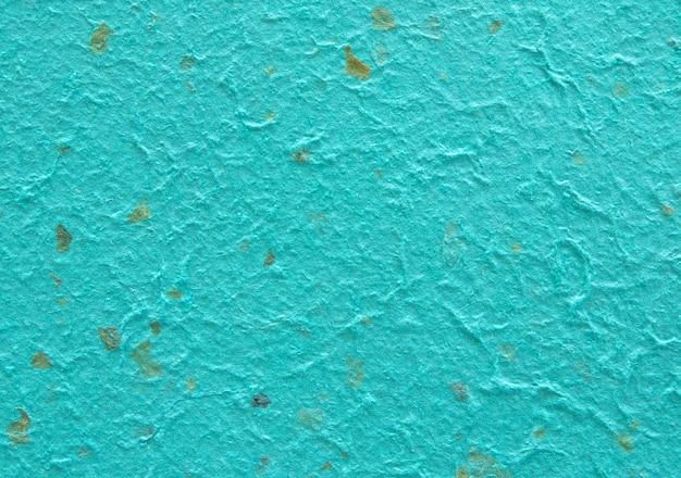 Dettaglio di carta blu fatta a mano o di gelso texture di carta per lo sfondo