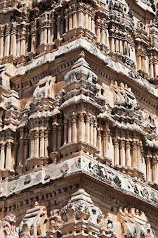 Particolare del tempio di virupaksha