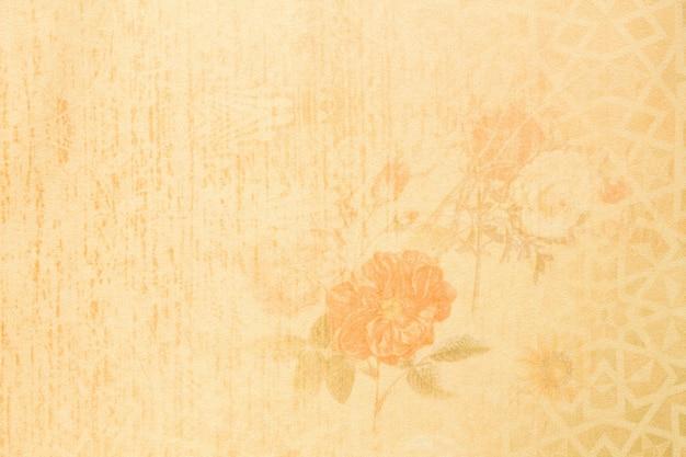 Fondo elegante astratto floreale dettagliato di struttura