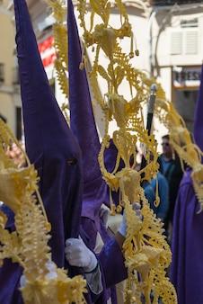 Dettagli settimana santa a malaga