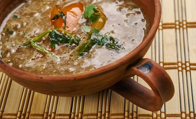 Dhaba style dal fry, cucina indiana chiudi uo