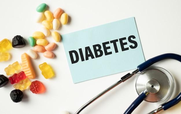 Un test del diabete, concetto medico di salute, obesità, esame del sangue per il diabete