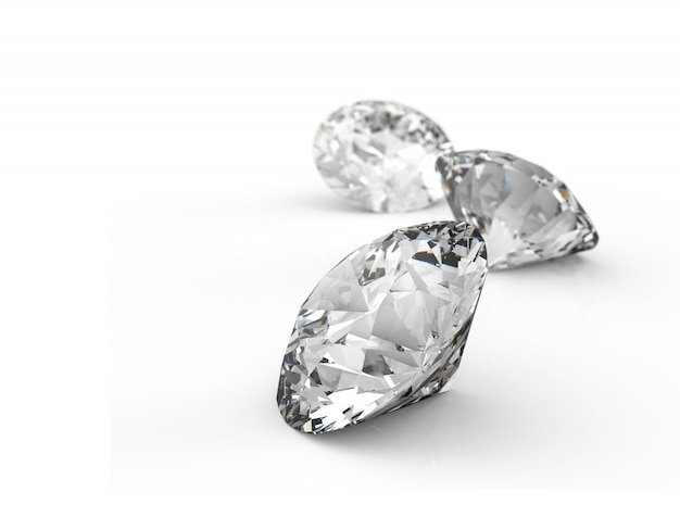 Pezzi di diamanti