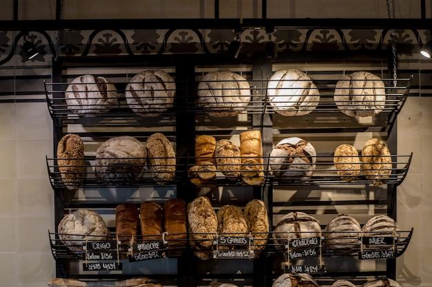 Diversi tipi di pane artigianale