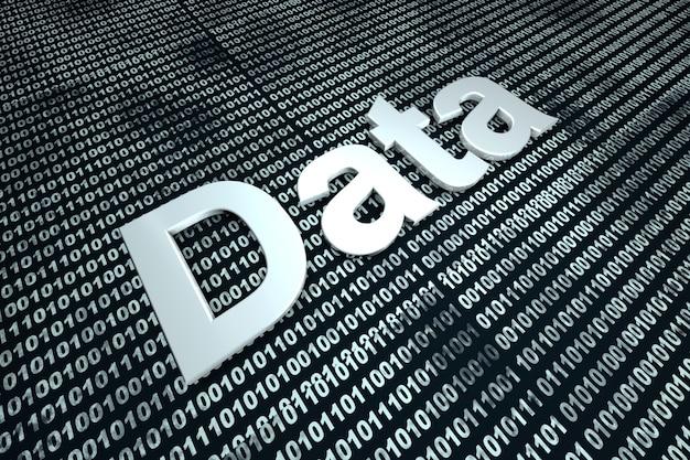 Dati digitali.
