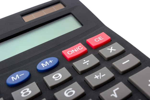 Calcolatrice elettronica digitale isolata