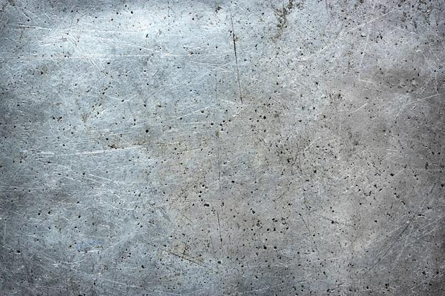 Sfondo di metallo sporco, vecchio foglio di ferro con trama danneggiata