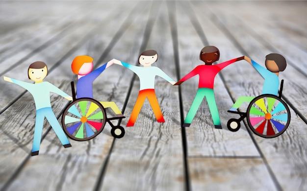 Disabilita il concetto di figure di carta sullo sfondo