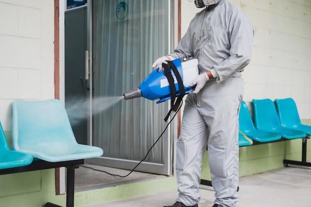 Disinfezione degli uffici per prevenire il covid-19