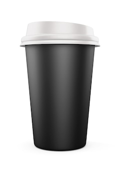 Bicchiere usa e getta per bevande Foto Premium