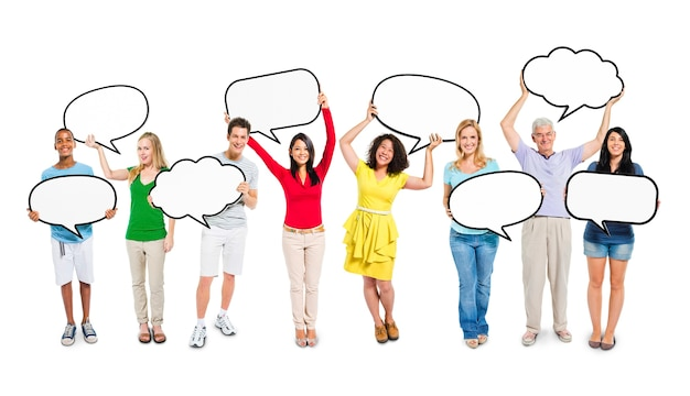 Diverse etnie etnicità variazione unità concetto di unità