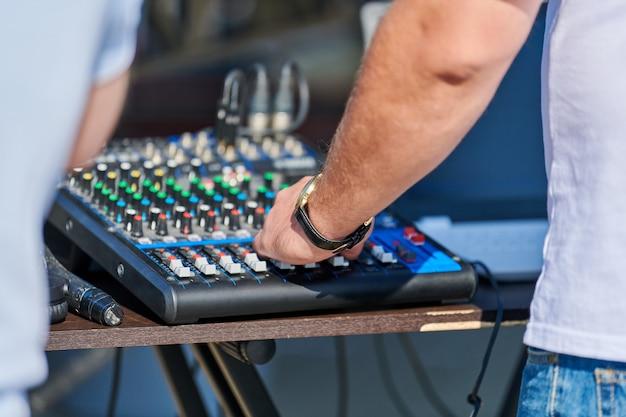 Controller mixer dj