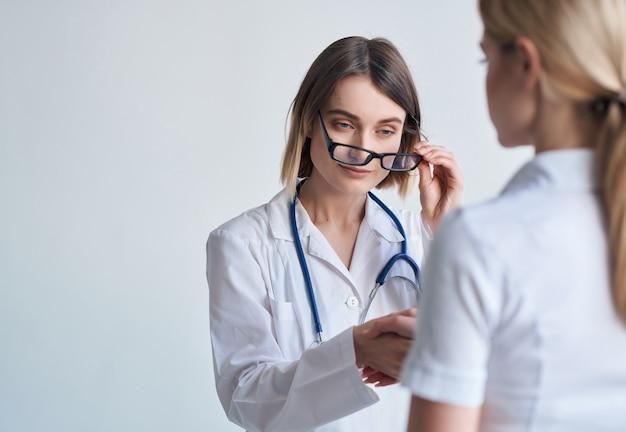 Studio medico per l'esame del paziente