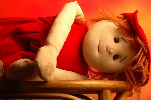 Doll sleeps