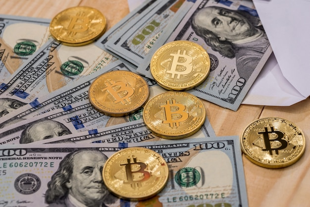 Dollaro bilsl con bitcoin.