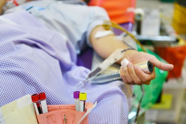 Sangue donato in ospedale