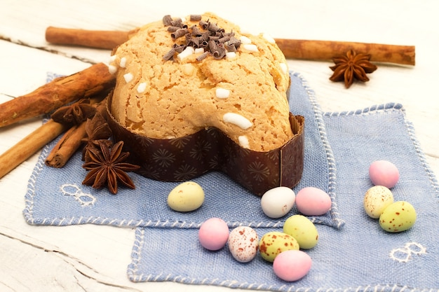 Colomba con cioccolatini pasquale-colomba pasquale