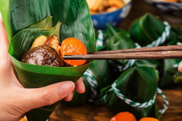 Gnocchi di riso del dragon boat festival