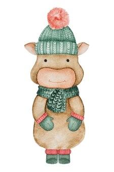 Disegnare vestiti e cose invernali. bellissimo biglietto di auguri. avvicinamento