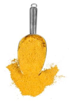 Erbe e spezie essiccate: curry in polvere