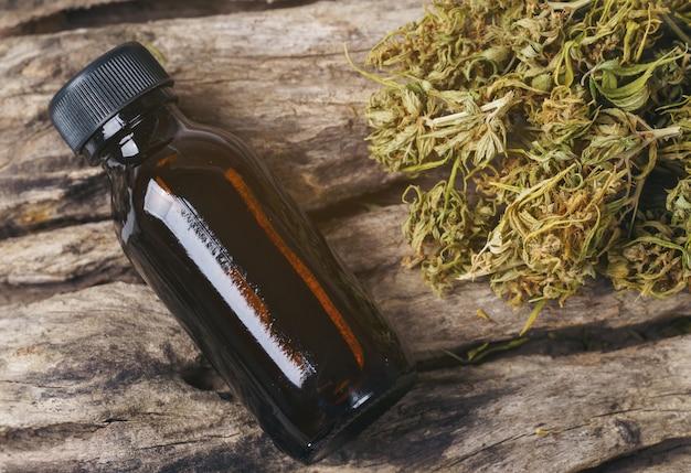 Marijuana medica secca con estratto di thc