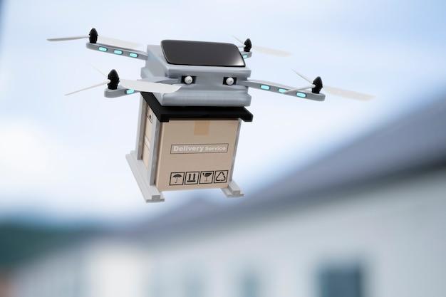 Dispositivo di ingegneria della tecnologia dei droni per l'industria