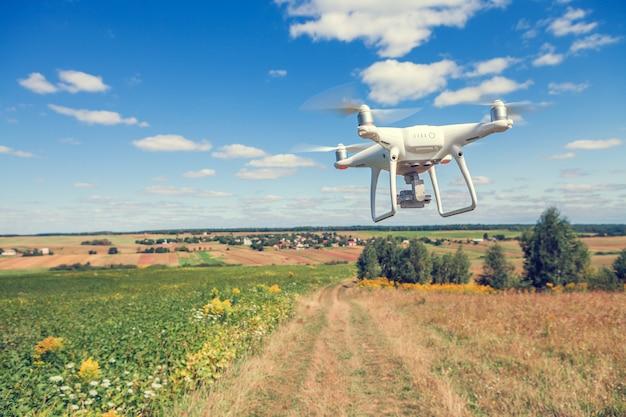 Droni sul campo