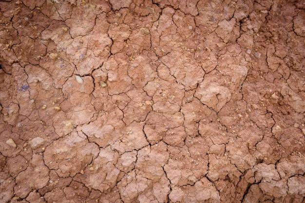 Fondo realistico del deserto della terra di siccità.