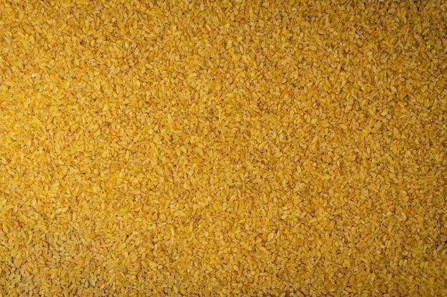Priorità bassa di struttura dei grani secchi di bulgur