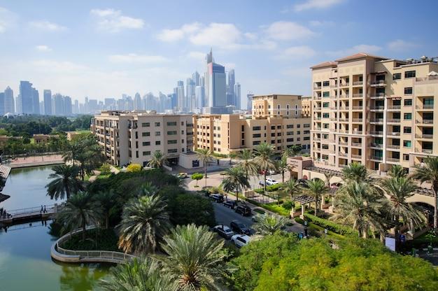 Dubai, emirati arabi uniti - fabruary 04 la comunità dei verdi il 4 febbraio 2021 a dubai