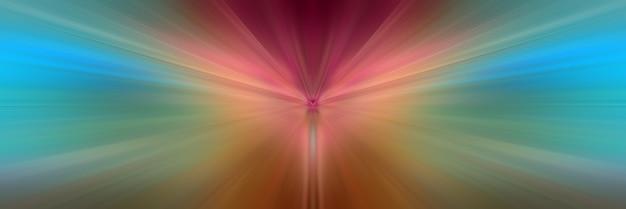 Linee di colore dinamiche di luce.