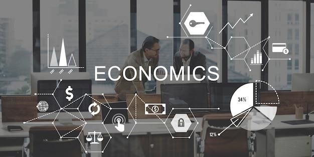 Economia investimento profitto entrate risparmi concept
