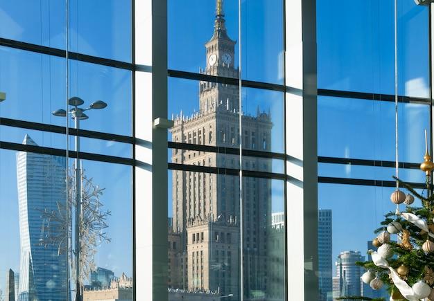 Immagine editoriale del palazzo di varsavia
