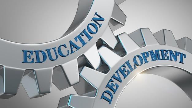 Sfondo di sviluppo dell'istruzione
