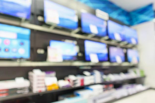 Priorità bassa vaga del grande magazzino elettronico