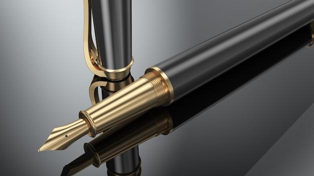 Elegante penna stilografica aziendale