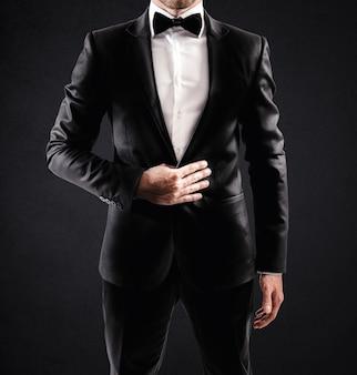 Elegante uomo d'affari