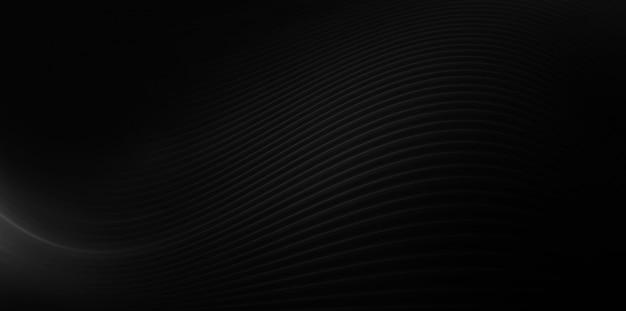 Illustrazione 2d elegante e moderna del fondo nero