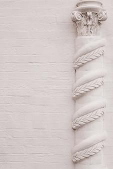 Elementi di decorazioni architettoniche di edifici, stucchi in gesso, struttura della parete, ornamenti e motivi in gesso
