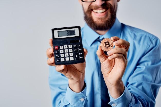 Economia professionale dell'ufficio delle finanze dell'uomo emotivo