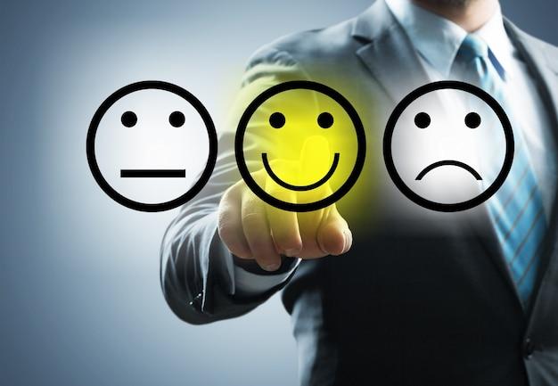 Il migliore sfondo del sondaggio sulla soddisfazione del feedback dei dipendenti