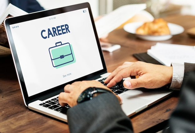 Reclutamento di ricerca di lavoro di carriera di occupazione