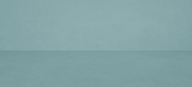 Stanza in cemento verde vuota e sfondo del pavimento, stanza in cemento sfumato verde prospettiva per sfondo interno, sfondo, con spazio per il modello di visualizzazione del prodotto, modello