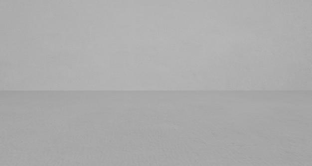 Stanza vuota in cemento grigio e sfondo del pavimento, stanza in cemento sfumato grigio prospettiva per sfondo interno, sfondo, stanza in cemento grigio grunge con spazio per il modello di visualizzazione del prodotto, modello