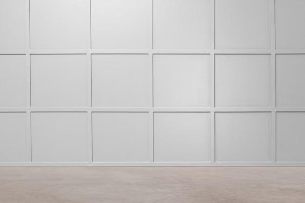 Interior design moderno vuoto della stanza di lusso
