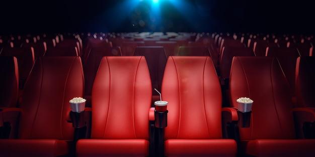 Rendering di cinema vuoto d