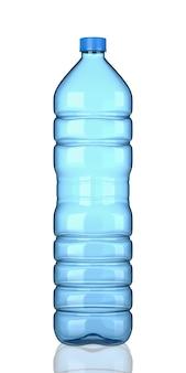 Bottiglia di plastica vuota isolata