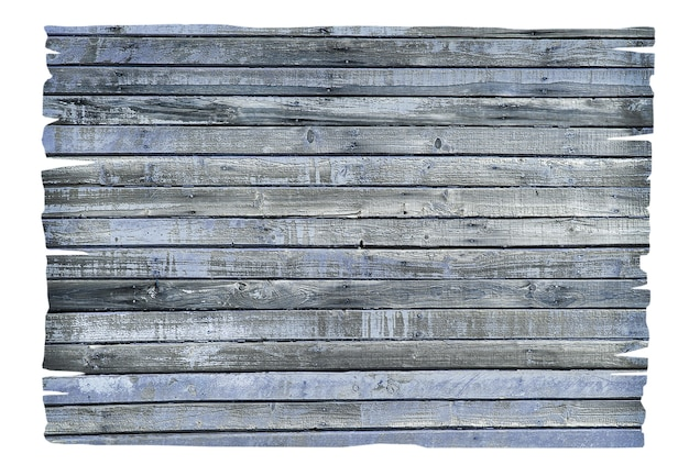 Segno di legno vuoto