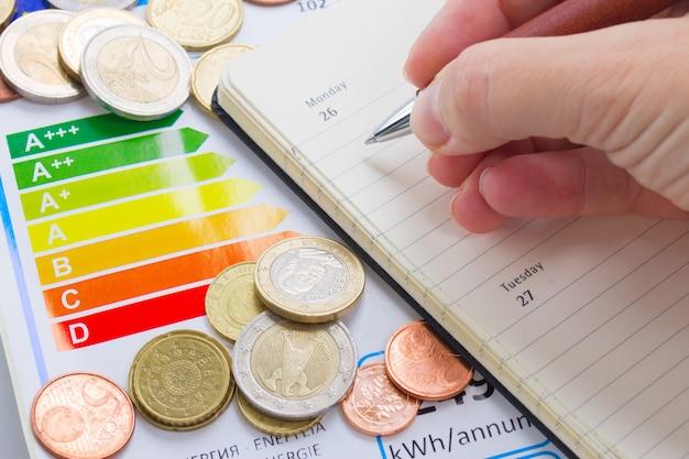 Concetto di efficienza energetica