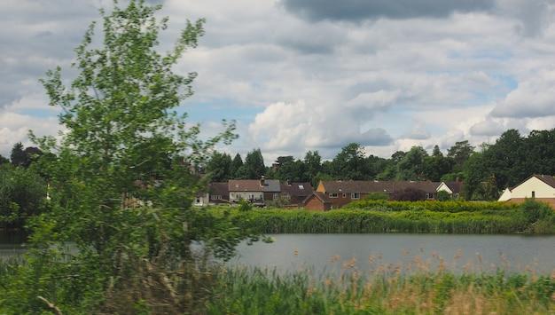 Paesaggio di campagna inglese